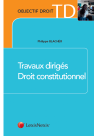 couverture publication TD droit constitutionnel