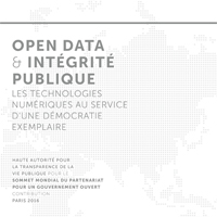 Open data integrité publique